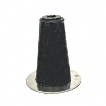 Rubber conical size 2, incl. V2A washer